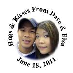 Wedding Photo Hershey Kisses Stickers