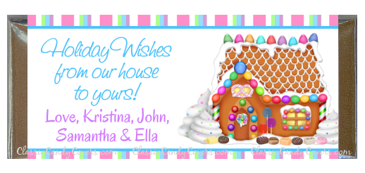 CWHH - Christmas Holiday 18 - Gingerbread House