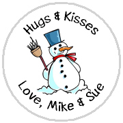 Hershey Kisses Christmas - KISS HH02_Holiday Snowman 1