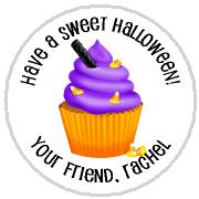 Hershey Kisses Halloween - KISS HW12_Halloween Cupcake