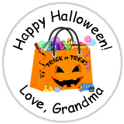 Hershey Kisses Halloween - KISS HW13_ Halloween Candy Bag