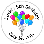 Hershey Kisses Birthday - KISS BD01 - Birthday Balloons