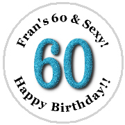 Hershey Kisses Birthday - KISS 60th Birthday - ANY COLOR!