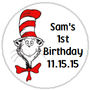 Hershey Kisses Birthday - KISS K_Cat In The Hat 2