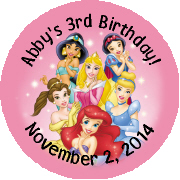 Hershey Kisses Birthday - KISS K_Disney Princess