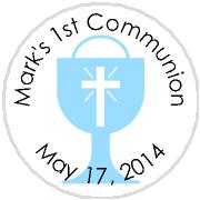 Hershey Kisses Religious - KISS REL29_Communion Blue Chalice