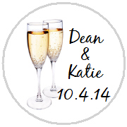 Kisses Wedding - KISS WD_11 - Champagne Glasses