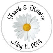 Kisses Wedding - KISS WD_28 - White Daisy