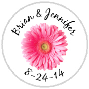 Kisses Wedding - KISS WD_29 - Pink Gerbera Daisy 1