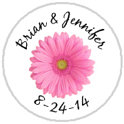 Kisses Wedding - KISS WD_30 - Pink Gerbera Daisy 2