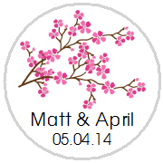 Kisses Wedding - KISS WD_36 - Cherry Blossom Stem