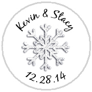 Kisses Wedding - KISS WD_40 - Silver Snowflake