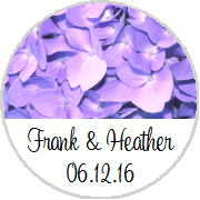 Kisses Wedding - KISS WD_49 - Lavender Purple Hydrangea