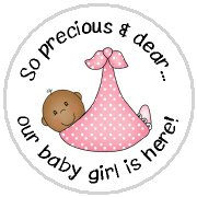Hershey Kisses Baby Girl - KISS BG05 AA