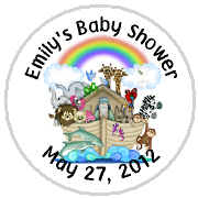 Hershey Kisses Baby Shower - KISS BS17-Noah's Ark Hershey Kisses Labels Stickers, Personalized Baby Shower Hershey Kisses, Baby Shower, Baby, Noah's Ark, Noahs Ark
