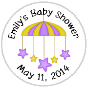 Hershey Kisses Baby Shower - KISS BS42-Baby Shower Star Mobile Hershey Kisses Labels Stickers, Personalized Baby Shower Hershey Kisses, Baby Shower, Baby, Star, Mobile, Kiss Labels, Hershey Kisses