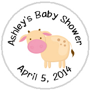 Hershey Kisses Baby Shower - KISS BS45-Farm Animals Hershey Kisses Labels Stickers, Personalized Baby Shower Hershey Kisses, Baby Shower, Baby, Kiss Labels, Hershey Kisses, Farm Animals, Pig, Old MacDonald's Farm, Cow
