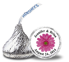 Personalized Hershey Kisses Stickers Labels