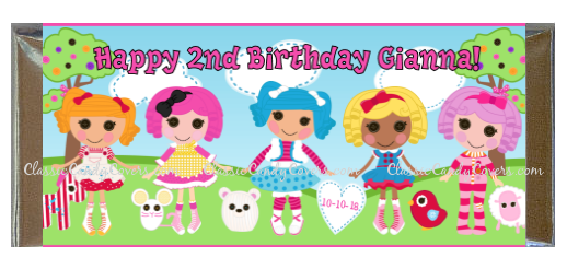CWBD - Lalaloopsy Inspired Candy Bar Wrappers