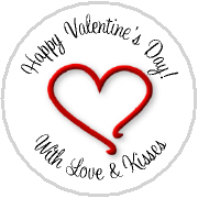 Hershey Kisses Valentines - KISS VD04