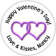 Hershey Kisses Valentines - KISS VD10