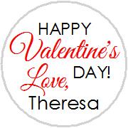 Hershey Kisses Valentines - KISS VD17