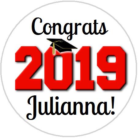 Hershey Kisses Graduation - 2019 Graduation - All School Colors!