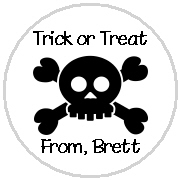 Hershey Kisses Halloween Stickers  Halloween Personalized Kiss Labels